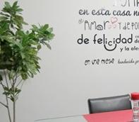 adhesivos de texto creativos medellin apartamento modernos