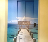 ascensores decorativos medellin arte mas vinilo