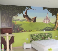 foto mural de hada
