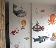 foto mural marino