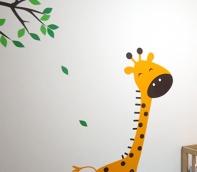 habitaciones infantiles animales jirafa