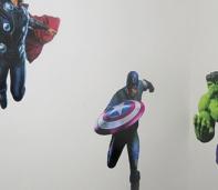 los vengadores marvel foto murales