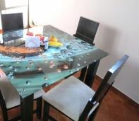 mesa vidrio