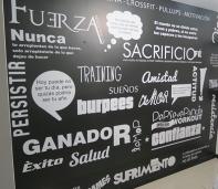 murales textos