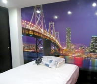 pegatina new york, foto murales