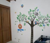 vinilo de árbol