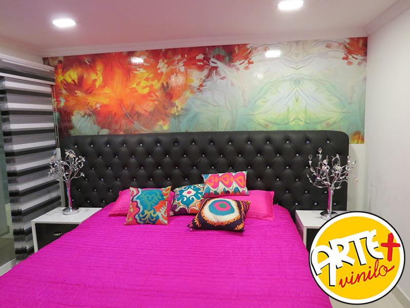 Abstractos murales decorativos for Murales decorativos