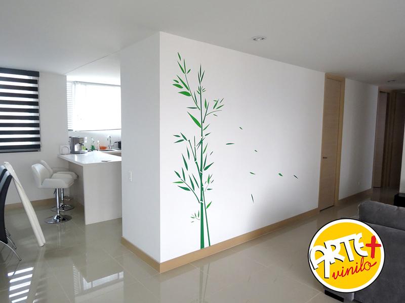 adhesivo bambú