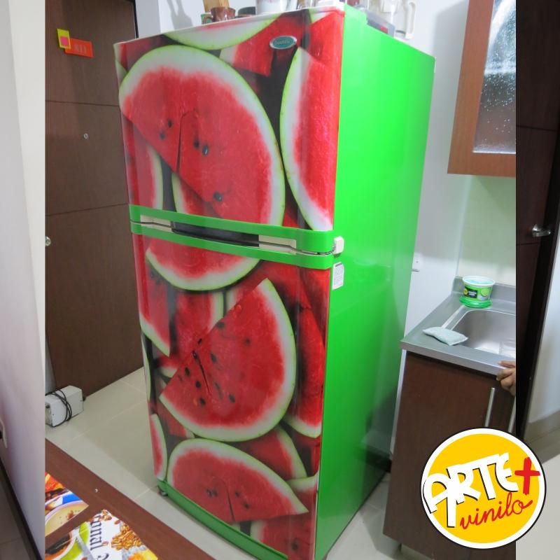 neveras personalizadas frutas