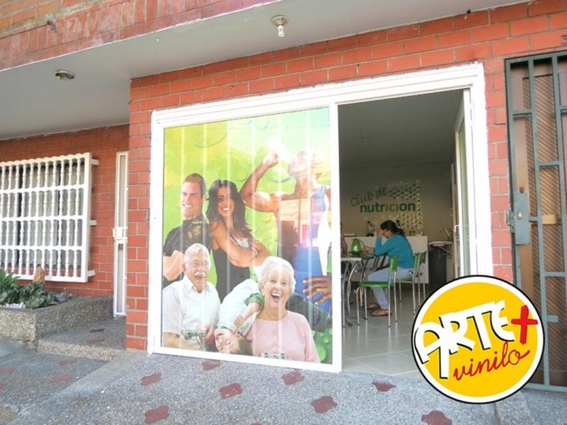 puerta publicidad