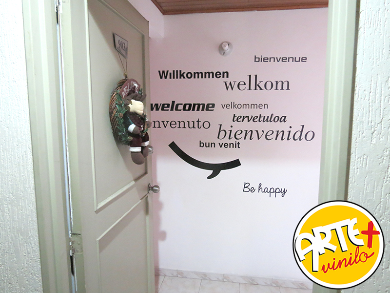 texto bienvenidos