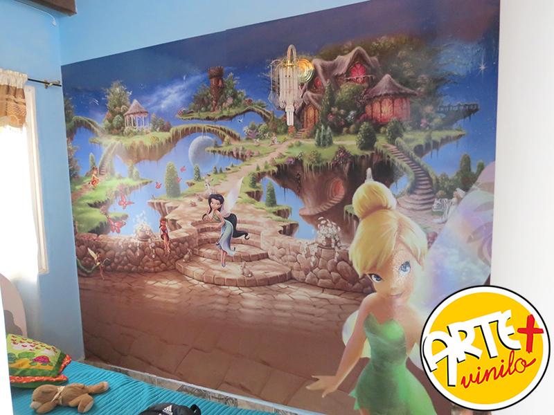 tinkerbell foto mural